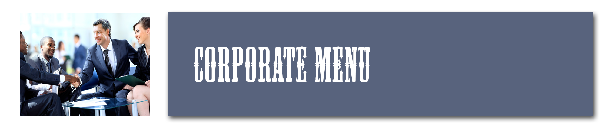 Corporate Menus